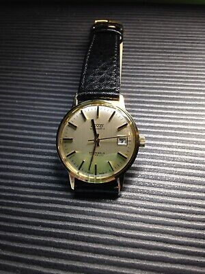 Vintage 9k Gold Uno Automatic Watch Minty ! • 375£