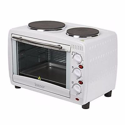 Igenix IG7126 Electric Mini Oven With Hob And Grill Function 26L White SIL000007 • 500£