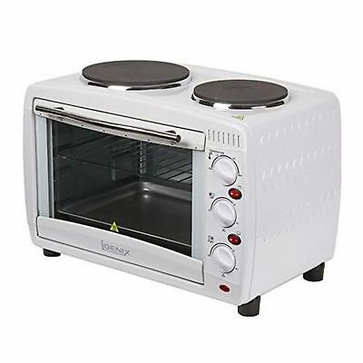 Igenix IG7126 Electric 26L Mini Oven With Hob And Grill Function White SIL000027 • 500£