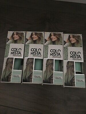 4 X L'Oreal Colorista Mint Pastel Washout Semi Permanent Hair Dye • 8.50£
