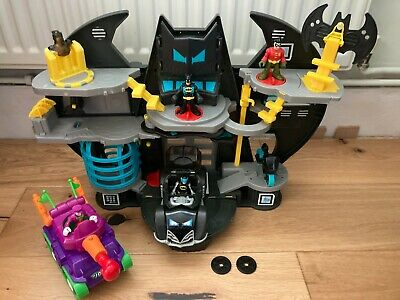 Imaginext Batman Cave, Used In Very Good Condition FREE POSTAGE! • 33£