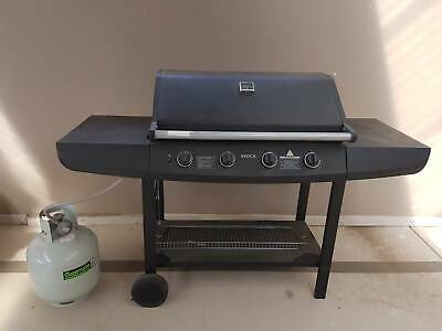 AU149 • Buy 4 Burner Hooded Barbeque (BBQ) With Gas Cylinder