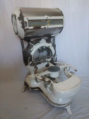Vintage Retro Avery Barrel Shop Scales Heavy Duty Sweet Shop Butchers Victorian • 65£