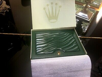 $ CDN611.54 • Buy Genuine ROLEX  Watch Box Case Complete Set  Outer Box/Sleeve/Cloth/Documentation
