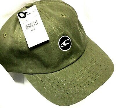 $29.99 • Buy NEW W/ TAGS O'NEILL HAT Military Green Surfing Adjustable Strapback