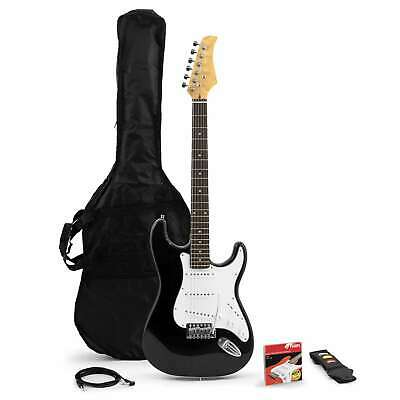 Tiger Beginners Full Size Electric Guitar Bundle - Strap, Picks, Lead And Bag • 74.99£