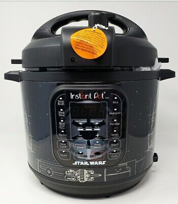 $269.98 • Buy Star Wars Special Edition Instant Pot Duo 6-Qt. Pressure Cooker Darth Vader