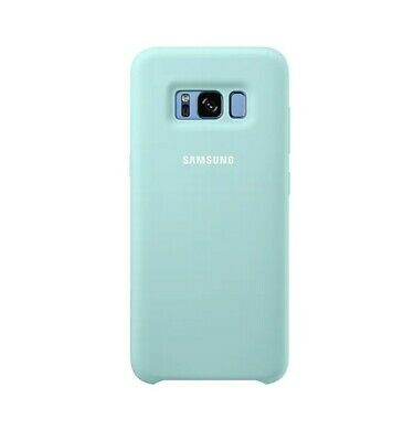 $ CDN4.57 • Buy Official SAMSUNG Galaxy S8+ Silky & Soft Silicone Back Case || Mint Green