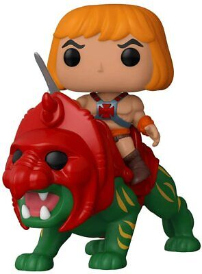 $29.95 • Buy Funko Pop! Ride: Masters Of The Universe - He-Man On Battle Cat Vinyl Figure
