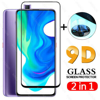 $ CDN5.33 • Buy 2 In 1 Glass For Xiaomi Pocophone F2 Pro Camera Lens Full Cover Screen Protector