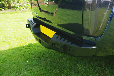 Off Road Winch Style Combat Bumper To Fit Nissan Navara NP300 2016+ • 645£