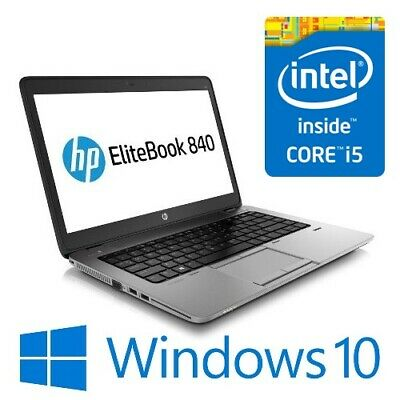 AU389 • Buy HP EliteBook 840 G2 Laptop Intel I5 5300U 8G 500G WiFi 14  LED Win 10 Pro