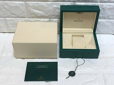 $ CDN190.08 • Buy GENUINE Rolex SUBMARINER Watch Box Case Wave 39137.04 Small Booklet / 0519018-8