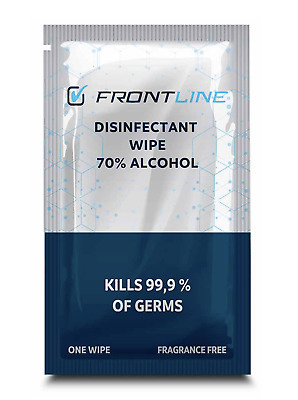 ALCOHOL Wipes 70% Swabs Pads Tattoo Nail CPU Antiseptic Cleanser Cleaning • 5.55£