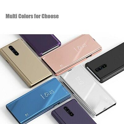 AU13.99 • Buy Phone Case For Oppo Find X2 Pro / Find X2 / Neo X2 Lite Luxury Mirror Flip Cover