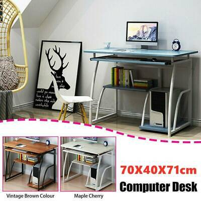AU70 • Buy Computer Desk Table Laptop Bookshelf Study Work Writing Home Office Storage