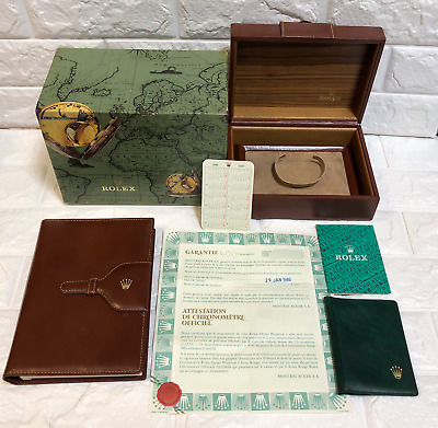 $ CDN543.08 • Buy GENUINE Rolex DAY DATE 18038 Watch Box Case 71.00.01 Guarantee / B0625039