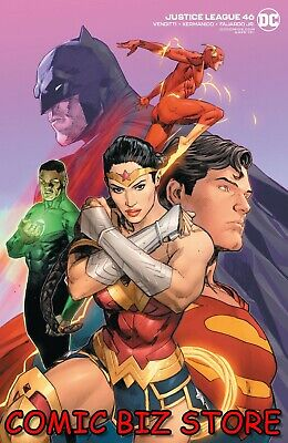 Justice League #46 (2020) 1st Printing Mann Variant Cover Dc Comics  • 3.55£
