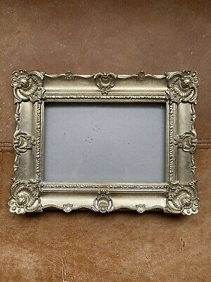 """Beautiful Gold Heavy Photo Picture Frame Rococo Baroque Style 4"""" X 6"""" • 26.09£"""