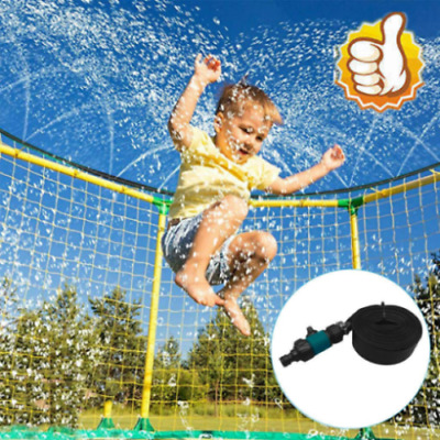 AU48.92 • Buy Trampoline Sprinkler, Outdoor Water Play Sprinklers For Kids Fun Games Yard Toys