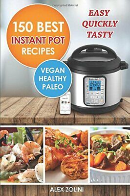 $15.95 • Buy Instant Pot Cookbook Best Recipes: Healthy, Easy, Quickly, Tasty, Vegetarian,…