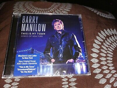 Barry Manilow This Is My Town Cdnew Sealed • 3.20£