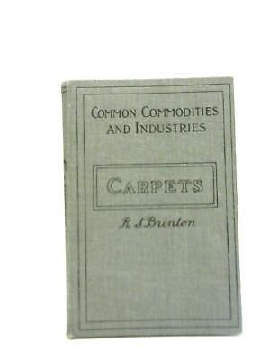 £8.21 • Buy Common Commodities And Industries Carpets (R S Brinton - 1932) (ID:04930)