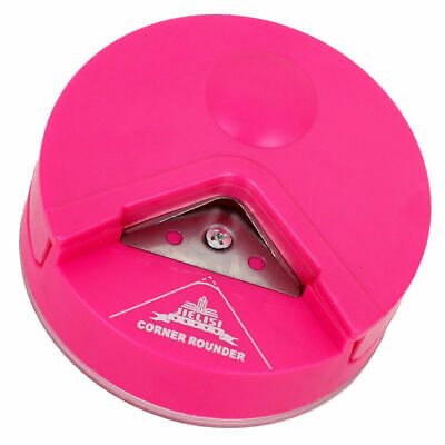 """3in1 Corner Craft Punch Paper Punch Hand Tool Cutter 1/"""" Card Punch 2,5cm Flora"""