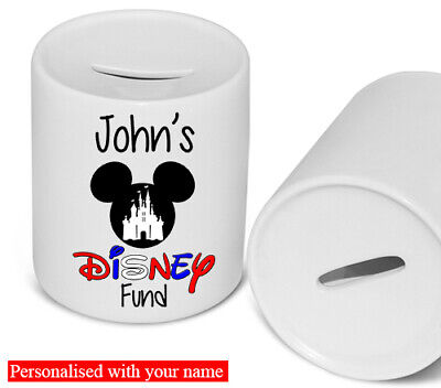 Disney Fund Money Box Personalised • 9.99£