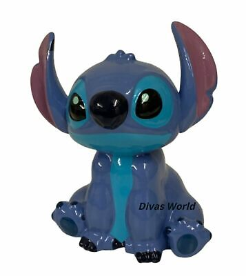 Disney Stitch Money Box Blue Ceramic Piggy Banks Gift Brand New Edition Primark • 15.98£