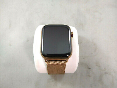 $ CDN544.30 • Buy Apple Watch Series 4 44mm Rose Gold Stainless Steel Ceramic Case Sapphire Crysta