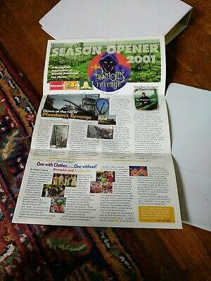 $22 • Buy Kennywood Amusement Park Season Opener Brochure