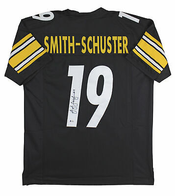 $ CDN206.77 • Buy JuJu Smith-Schuster Authentic Signed Black Pro Style Jersey BAS Witnessed