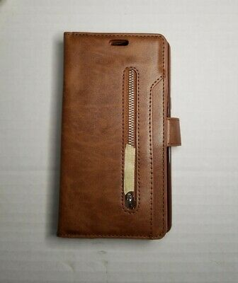 $ CDN12.66 • Buy For Samsung Galaxy Note 8 Luxury Retro Wallet Case With Lanyard Brown