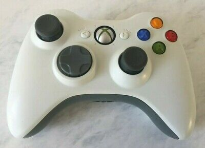 AU42.88 • Buy Xbox 360 Genuine White Wireless Controller -  Good Condition