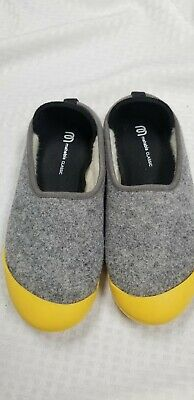 $26 • Buy Mahabis Classic 37 Gray Shoes Yellow  Sole US 6.5 🦋