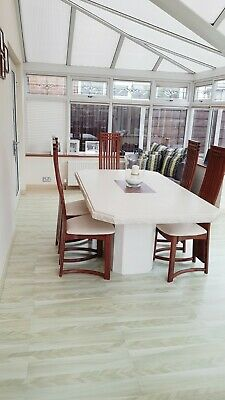 Stone Dining Table With 6 Chairs • 520£