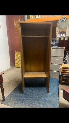 £50 • Buy Gym Room Changing / Open Wardrobe / Wood / Clothes Rail / Bench Seat
