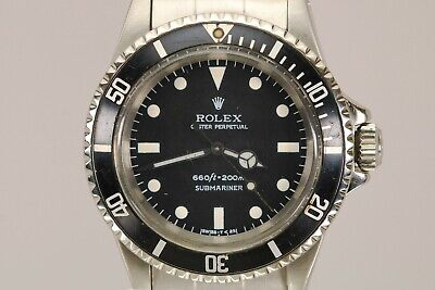 $ CDN6457.22 • Buy Rolex Submariner Ref 5513 Vintage Automatic Dive Watch Circa 1960s