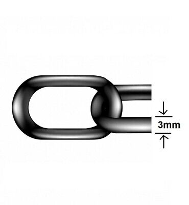 Hot Dipped Galvanised Steel Chain Heavy Duty Outdoor Durable Security Links • 3.89£