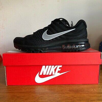 $169 • Buy New Nike Air Max 2017 Men's Running Shoe 849559 001 Black/anthracite All Sizes