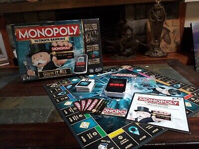 $14 • Buy Hasbro Monopoly Ultimate Banking Board Game - B6677 Complete