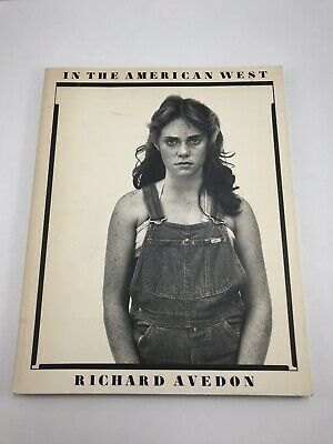 $100 • Buy RICHARD AVEDON IN THE AMERICAN WEST G/VG COND, 1985, Printed In Japan