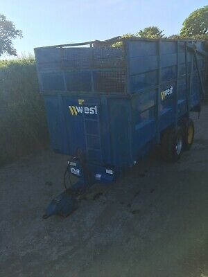 West 10 Ton Silage Trailer • 5,250£