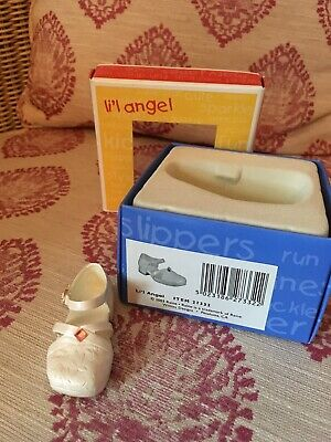 'Just The Right Shoe - For Kids' Single Shoe Ornament 'Lil Angel' • 4.50£
