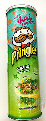 Pringles Hot And Spicy LARB THAI Flavored Potato Chips Snack 107g • 8.43£