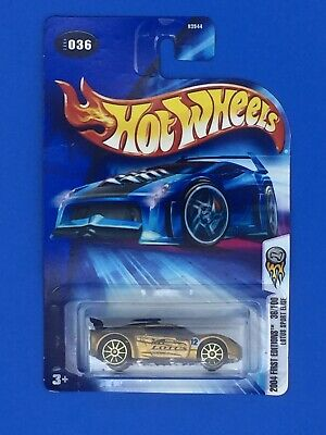 $ CDN1188.99 • Buy NEW Hot Wheels 2004 First Editions 36/100 Lotus Sport Elise - Gold (RARE) NIB