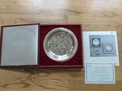 $ CDN365.05 • Buy 1972 Norman Rockwell The Carolers Sterling Silver Franklin Mint Christmas Plate