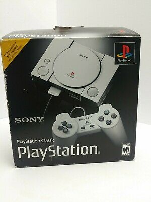 $49.99 • Buy Sony PlayStation Classic Gray Console (NTSC-U/C) *Used* No Power Or HDMI Cord*