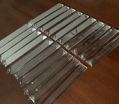 $19.99 • Buy 20 Crystal Prisms Long Triangular For Chandeliers, Or Project -(I Have 6 Lots)
